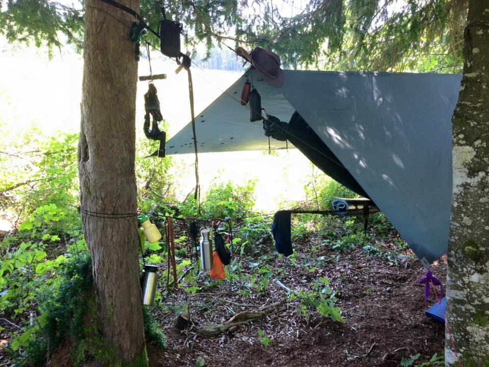 Backyard Hammock Setup : Neues H?ngematten Setup  DD Frontline Hammock  Outdoor Bavaria HD
