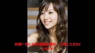 ボクシングのWBA世界フライ級王者井岡一翔(27)と歌手谷村奈南(...