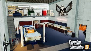 FS19  NEW EXPENDABLES EDITION REPAIR SHOP FOR OUR DEALERSHIP! RCC