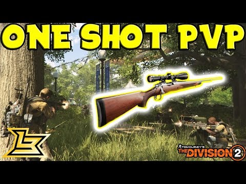 (17-2) One Shot Sniper Build PvP - The Division 2 Gameplay