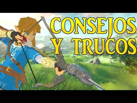 CONSEJOS Y TRUCOS BÁSICOS DEL ZELDA BREATH OF THE WILD