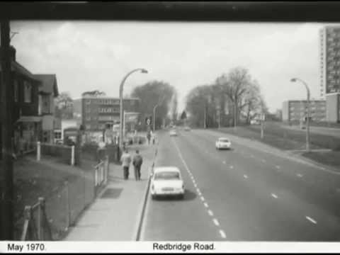 Totton By Bus 1970