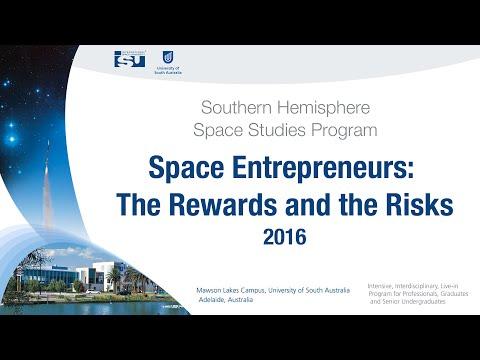 Space Entrepreneurs: The Rewards and the Risks - SHSSP16