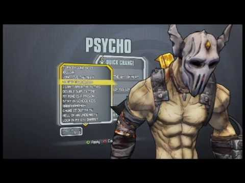 Krieg The Psycho Heads And Game-play - Borderlands 2
