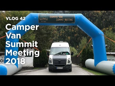 Camper Van Summit Meeting 2018