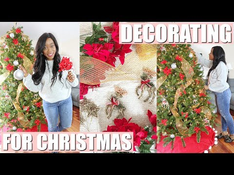 BEST TRADITIONAL CHRISTMAS TREE DECORATING IDEAS | AFFORDABLE HOLIDAY DECOR | NIA NICOLE