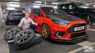 New BBS Wheels for My Focus RS Red Project!   PROJECT PART 4