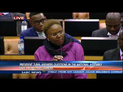 """Ndlozi calls Minister Zulu """"Mistress Ginger"""""""