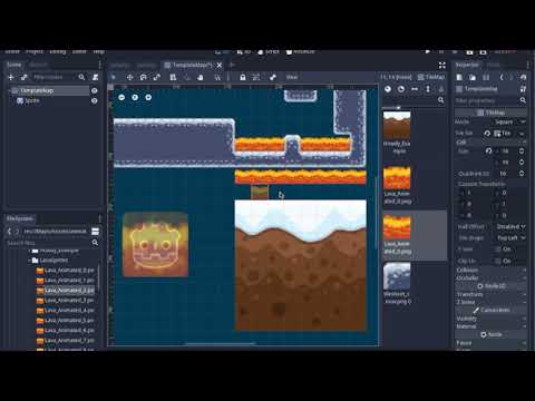 Animated TileMaps, Animated Textures, Shader Mix, Godot 3.1 Tutorial thumbnail