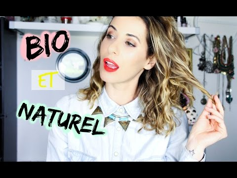 Les produits naturels et bio que j'utilise...