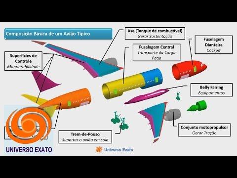 Aeronáutica C3-A1 Características da Asa e da Fuselagem, Componentes Básicos de um Avião