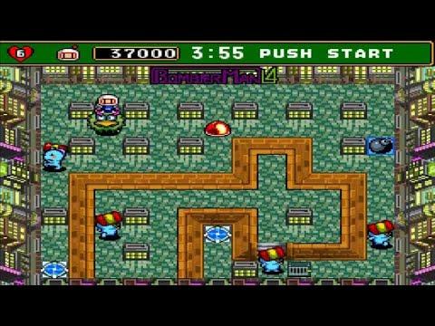 Đặt Bom – supper Bomberman 4 -Game 4 nút tuổi thơ