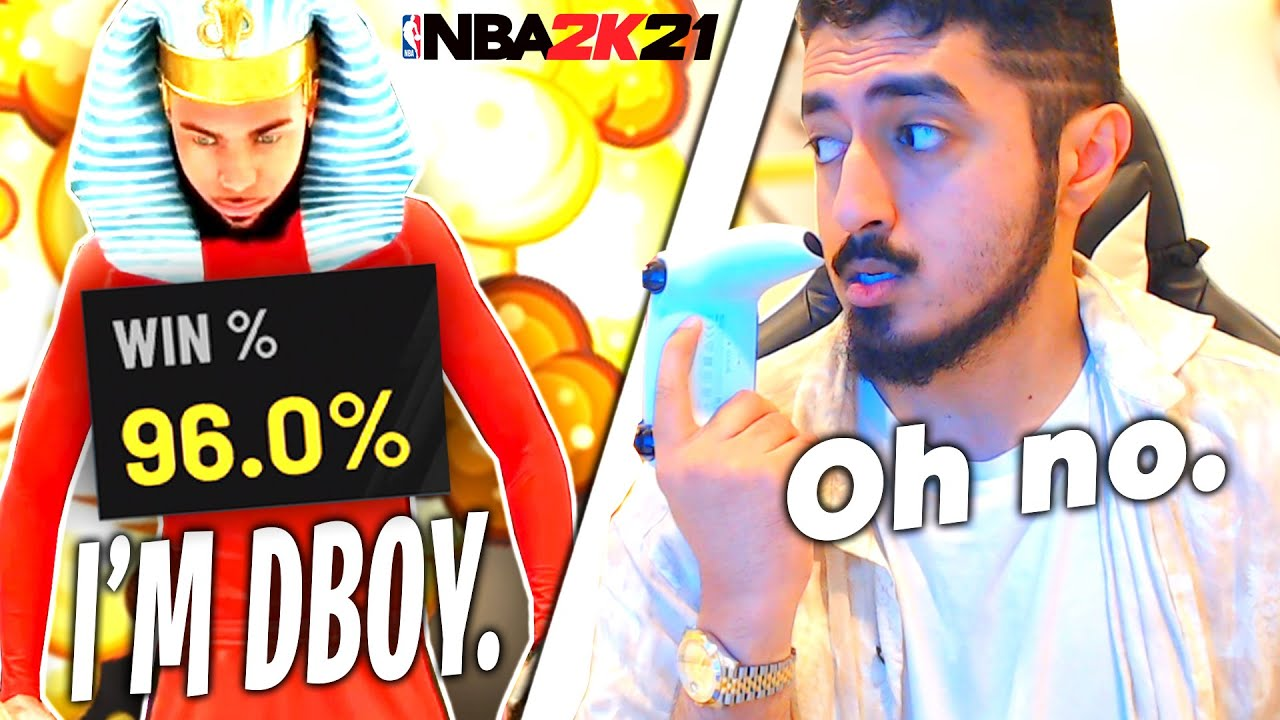 Dboy challenged me for $10,000, and I accepted (NBA 2K21)