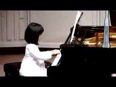 Hannah Plays J. Haydn's Surprise Symphony