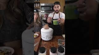 Viral Pesto Fried Rice From Tik Tok