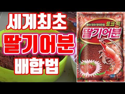 [토코TV]제30회 딸기어분 배합법(단품/대박어분)#레시피#어분배합법