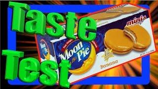 Moon Pie Taste Test