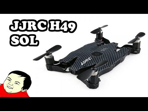 JJRC H49 SOL Drone 720P распаковка, обзор и краткая инструкция #586