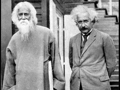 Rabindranath Tagore Speaks to Albert Einstein