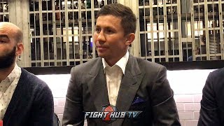 GENNADY GOLOVKIN - FULL CONVO ON CANELO VS JACOBS, CANELO VS GGG 3 AND FIGHTING STEVE ROLLS