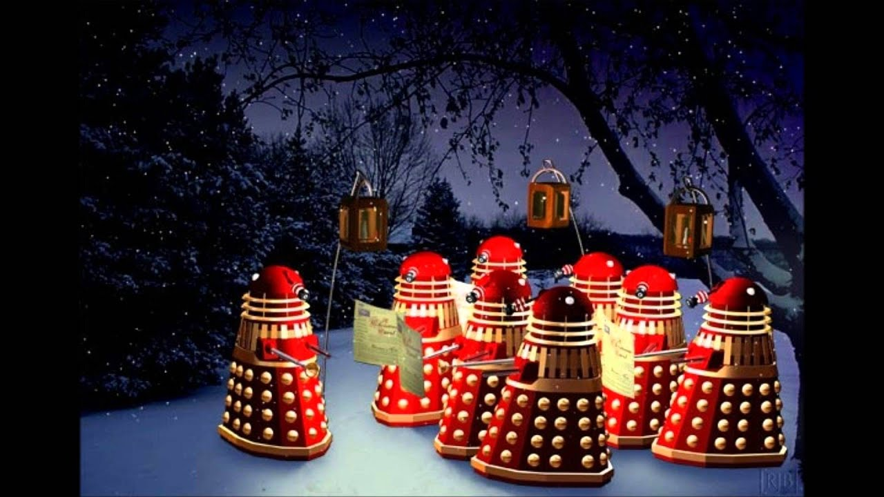 Dalek xmas silent night - YouTube