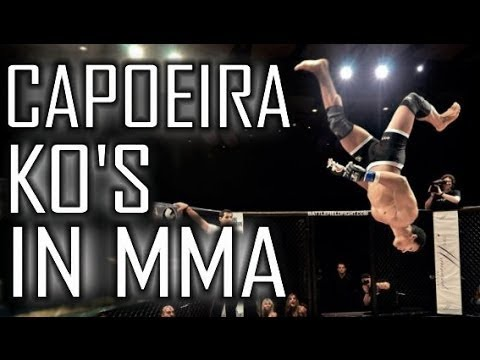 Capoeira Knockouts in MMA | Taekwondo Re-edition