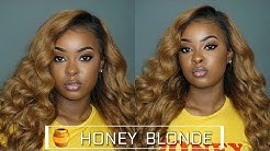 Honey Blonde Hair for Chocolate Women 🍫🍯 Dying Bundles Hair Tutorial ft. Lumiere Hair| Pitts Twins