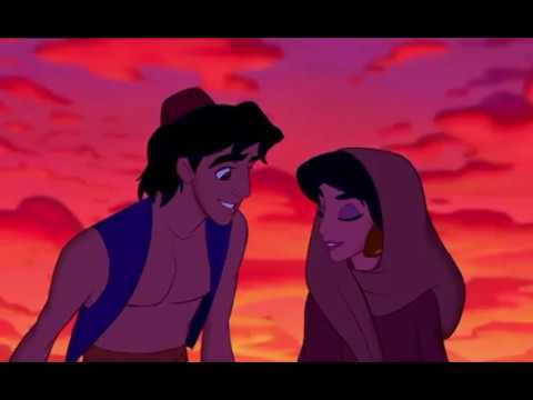 Aladdin & Jasmine first time hanging out