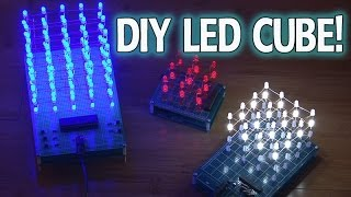 Amazing DIY LED CUBE!(How-to build really cool LED art! GET A FREE DIY MINI-COURSE http://kipkay.com/DIY BUILD DIY STUFF EVERY MONTH http://www.kipkay.com/m04 Get the ..., 2014-01-19T20:50:12.000Z)