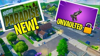 GREASY GROVE TACO TIME + MOISTY PALMS PROP HUNT FORTNITE + Tac SMG UNVAULTED! v10.3 Patch Notes
