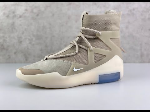 Nike Air Fear Of God 1 'Oatmeal' | UNBOXING & ON FEET | Fashion Shoes | 2019