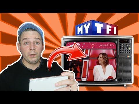 Regarder MYTF1  le replay de TF1 sur sa TV Orange, Free, Canal