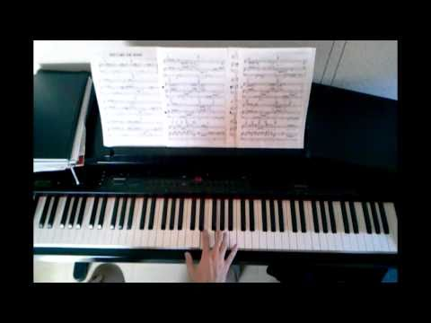Patrick Swayze She's like the wind (piano tutorial)
