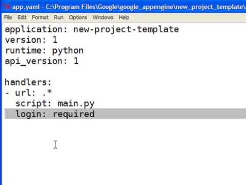 Installing Google App Engine applications into Google Apps - YouTube