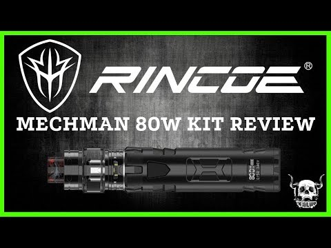 RINCOE Mechman 80W Kit Review - Single 18650 - Banging Flavour!