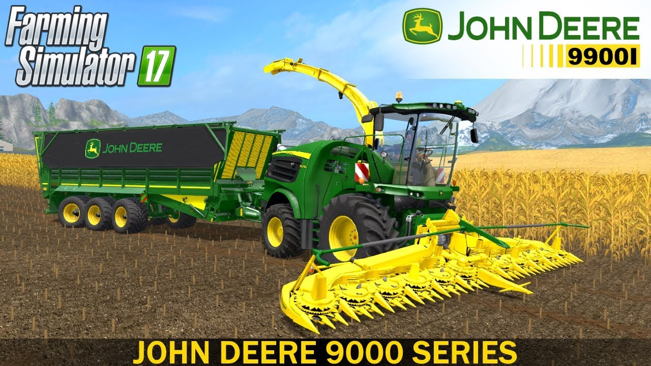 Farming Simulator 17 JOHN DEERE 9000 SERIES FORAGE HARVESTER