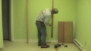 How To Install A Wooden You Shelving System.