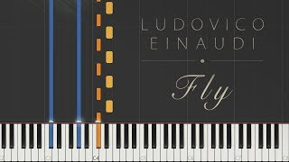 Fly - Ludovico Einaudi \\ Jacob's Piano \\ Synthesia Piano Tutorial