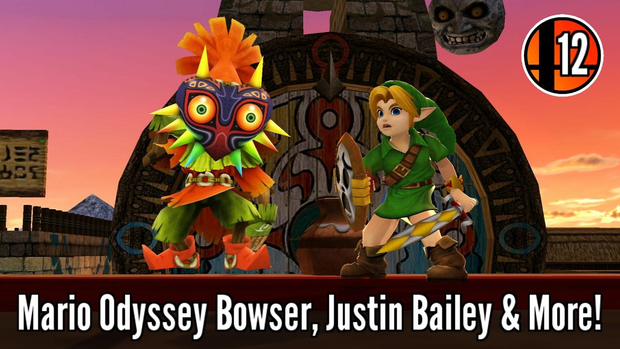 28 Character Skins, 10 Custom Stages & More! - Super Smash Bros  Wii U Mod  Showcase #12