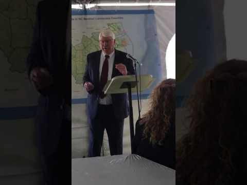 Agriculture Commissioner Steve Troxler announces $9.2 million Department of Defense award