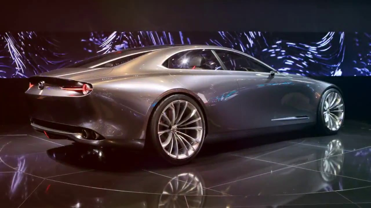 wow       2019 mazda vision coupe - best car concept in the year
