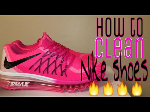 How to clean your Nike air max 90-2015