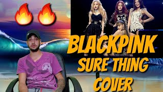 BLACKPINK - 'SURE THING (Miguel)' COVER 0812 SBS PARTY PEOPLE - REACTION