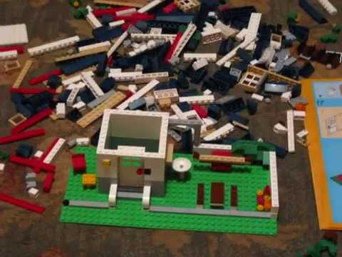 Building The Lego Apple Tree House 5891 Version 2 Youtube