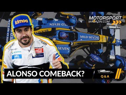 Kommt Fernando Alonso zurück? – Formel 1 2020 (Q&A)