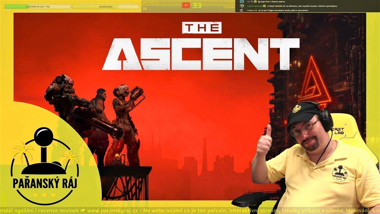 The Ascent | Testuji nové akční cyberpunkové RPG z Game Passu na konzoli XSX | CZ 4K60 HDR