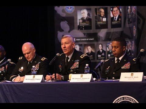 Cadet Command 2018 Senior Leader Development Panel