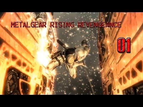 METAL GEAR RISING REVENGEANCE : EP.1 เริ่มเนื้อเรื่อง