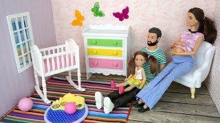 ВОТ ЭТО СЮРПРИЗ! Сборник 18 Мультик Беременная #Барби Куклы Игрушки для девочек Айкукла Тиви