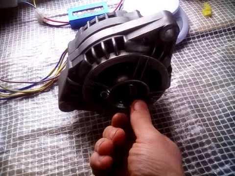 Видеозапись Продаётся генератор для ветрогенератора, цена 4500 рублей